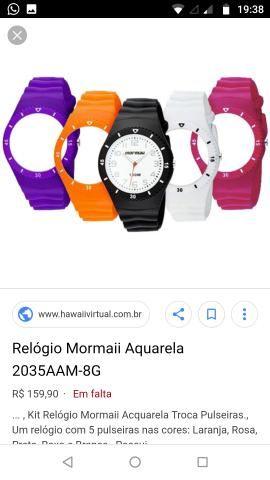 Relógio Mormaii original azul - Bijouterias, relógios e acessórios ... 142cf411f8
