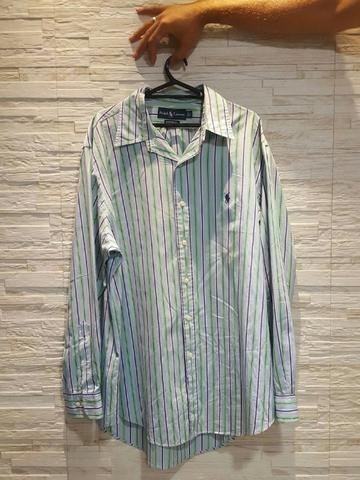 9123edbbbb Camisa social de manga longa