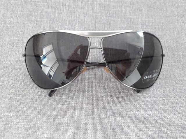 582cf8a1a779f Oculos escuro masculino Giorgio Armani Original - Bijouterias ...