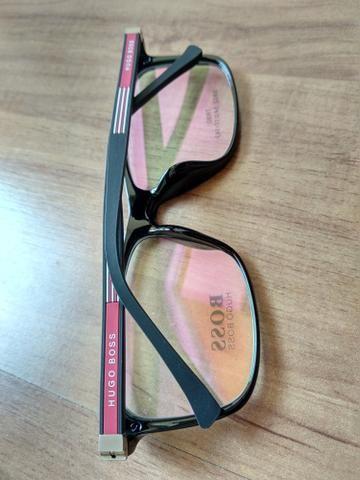 7b1042989022c Meio aro branco prateado armação de óculos novo - Bijouterias ...