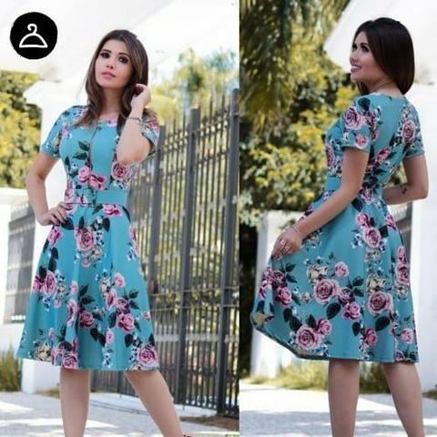 6166331b09 Vestidos Midi Moda Evangélica - Roupas e calçados - Japiim