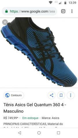 2d34d35cb65 Vendo Tênis Asics gel quantum 360 Masculino - Roupas e calçados ...