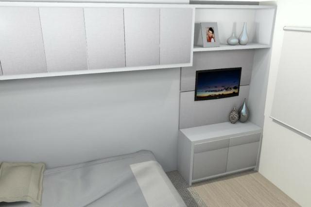Vendo apartamento novo semi mobiliado