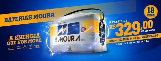 Bateria Moura 60ah Promoção
