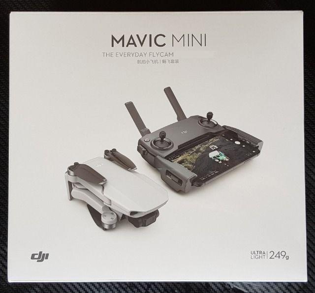 Drone DJI Mavic Mini, Homologado Pela Anatel Com 1 Ano de Garantia no Brasil - MT1SS5