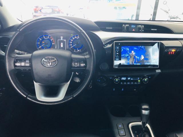 Toyota Hilux diesel 2018 impecável - Aceitamos troca e financiamos! - Foto 10