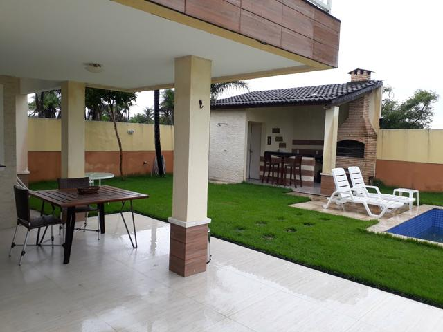 Duplex sendo 3suítes com piscina & deck em condomínio a 20minutos do centro de messejana - Foto 12
