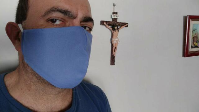 Máscara Dupla - ALGODÃO- - Foto 3