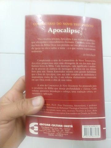 Livro comentário do novo testamento apocalipse - Foto 3