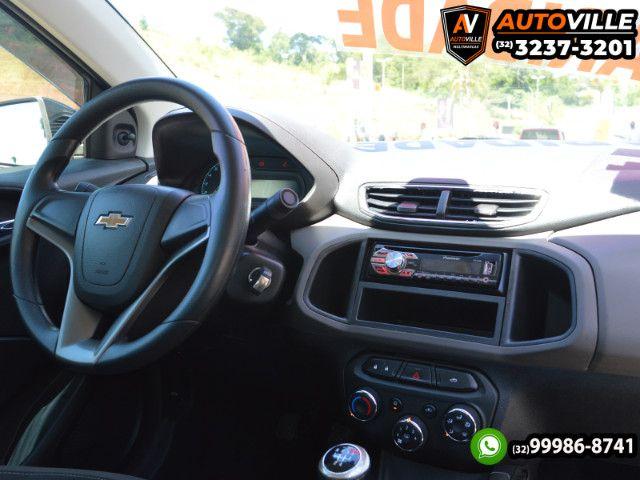 Chevrolet Prisma LT 1.0 Flex Completo*Rodas de Liga Leve*Motor 80CV - 2014 - Foto 10