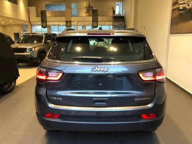 Novo Jeep Compass Sport 1.3 turbo flex 2022 SUV 185cv para pessoa física - Foto 3