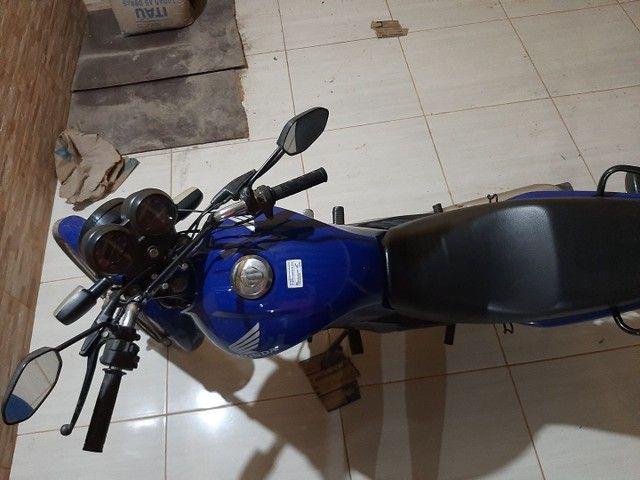 Troco essa moto fan 125. 2012-2013 - Foto 3