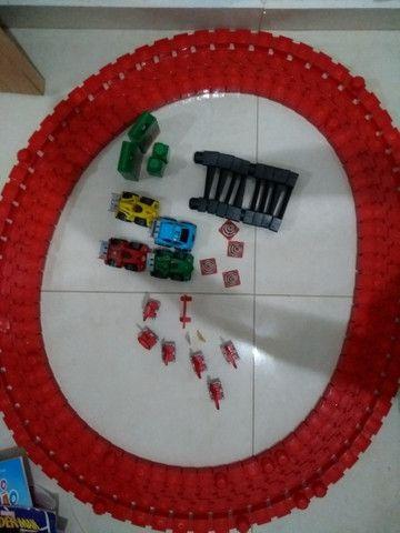 Brinquedo Pista Corrida Carrinhos Desmontável - Foto 5