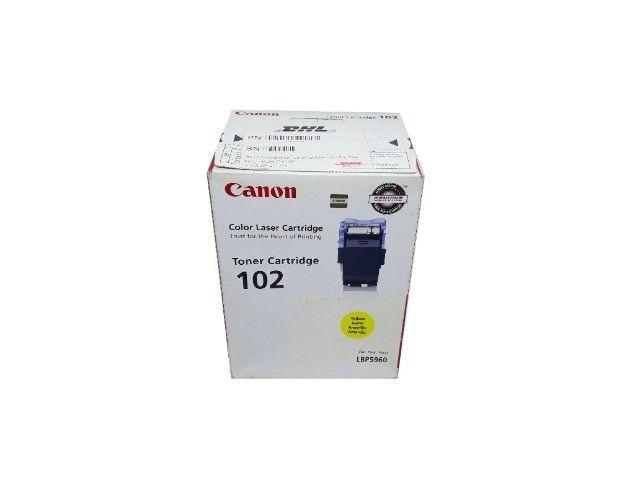 Toner Canon 102 / LBP5960 Yellow Original Novo
