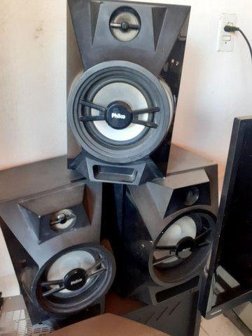 3 caixas de som