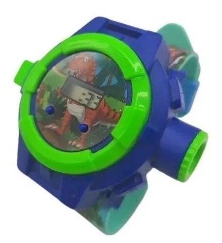 Relógio Infantil Masculino Com Projetor Dinossauro Luminoso - Foto 3