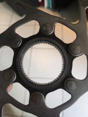 Disco de freio Shimano - Foto 3
