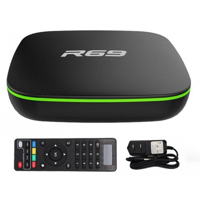 Smart Tv Box R69 Android 7.1 2g/16g Full Hd 4k - Foto 2