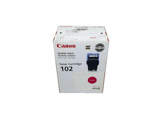 Toner Canon 102 / LBP5960 Magenta Original Novo