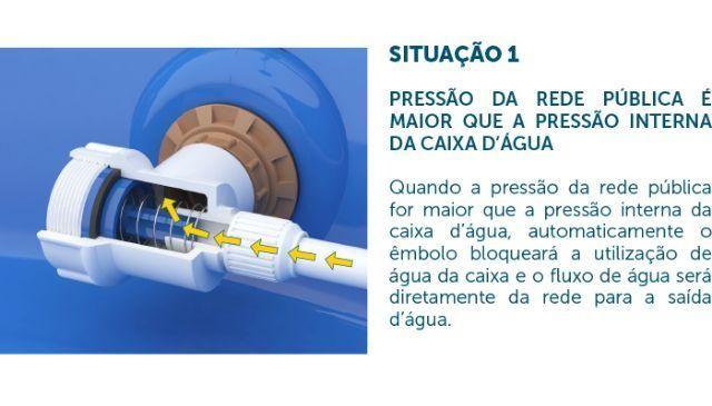Sem pressão em casa? Válvula de Pressão para Caixas D'água - Foto 2