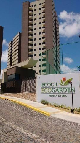 Ecogarden Ponta Negra - Apto 2/4 c/suíte de 54m² de 199.000 ao lado do Frasqueirão