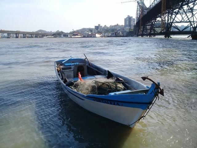 Bateira de pesca de fibra