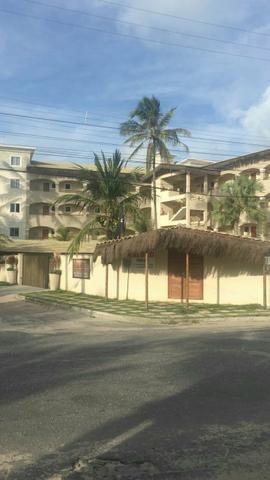 Flat no condomínio Cumbuco Residence na avenida dos Coqueiros
