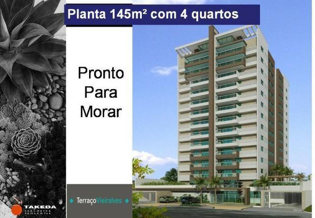 Apartamento pronto p/ Morar 4 quartos 145m2 - Bairro N. Senhora das Graças - Vieiralves