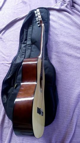 Vendo violão e capa forrada