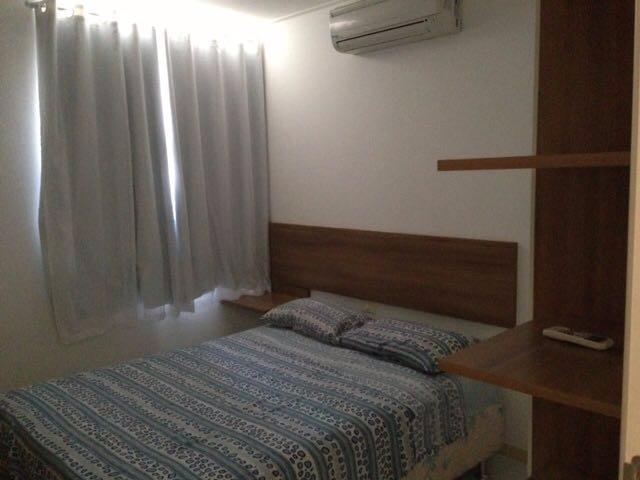 Aluga-se 2 quartos mobiliado beira mar Pajuçara -Maceió - Alagoas