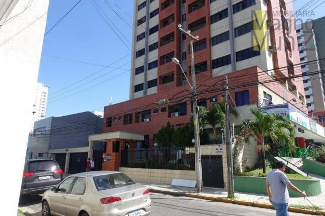 Apartamento com 3 dormitórios para alugar, 114 m² por r$ 800,00/mês - fátima - fortaleza/c