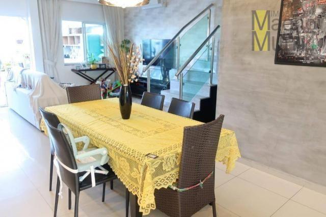 Casa duplex com 3 suítes projetadas para alugar, 140 m² por r$ 5.500/mês - praia do futuro - Foto 13