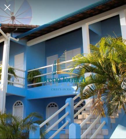 Pousada com 17 dormitórios à venda, 650 m² por r$ 1.800.000 - coroa vermelha - porto segur