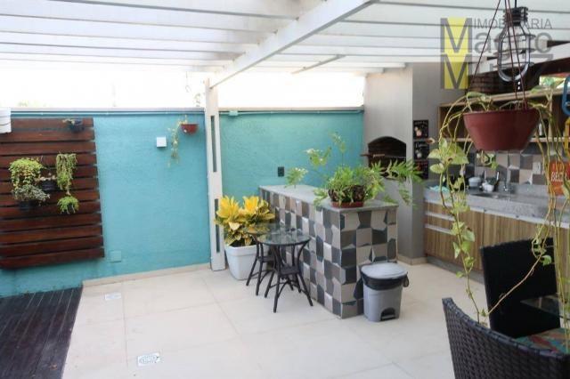 Casa duplex com 3 suítes projetadas para alugar, 140 m² por r$ 5.500/mês - praia do futuro - Foto 20