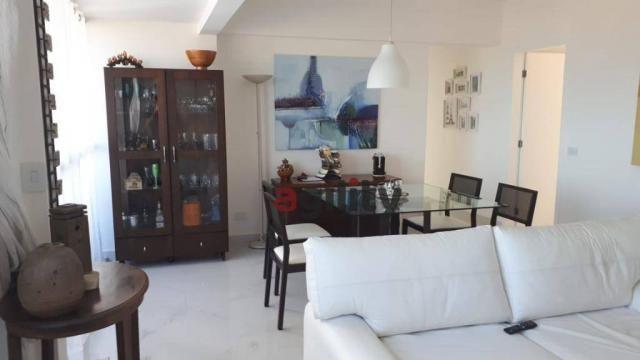 Apartamento com 2 dormitórios à venda, 114 m² por r$ 550.000,00 - capim macio - natal/rn - Foto 7