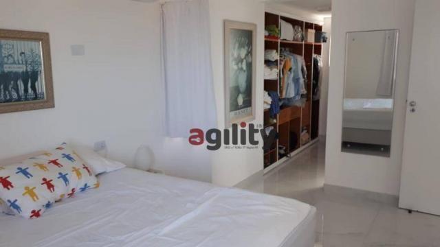Apartamento com 2 dormitórios à venda, 114 m² por r$ 550.000,00 - capim macio - natal/rn - Foto 11