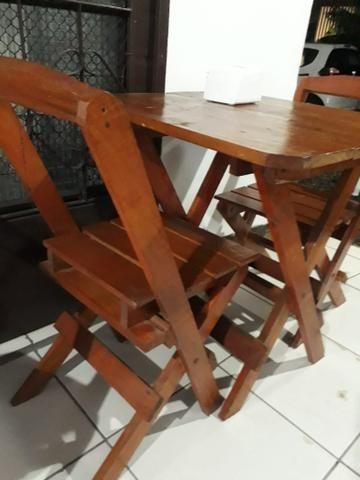 Jogo de mesa c 4 cadeira - Foto 2