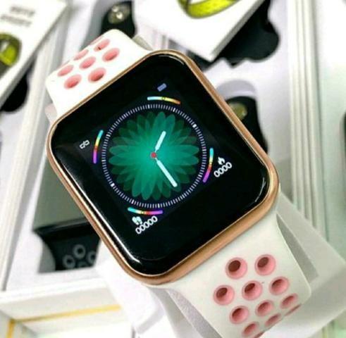 Relógio Smart Rosa novo na caixa com garantia