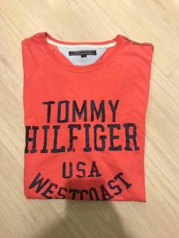 Camiseta Tommy Hilfiger masculina - M - Foto 2
