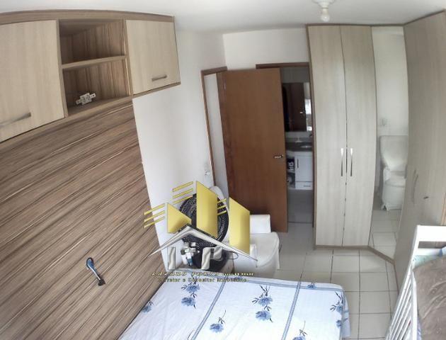 Laz - Alugo apartamento com varanda 2Q sendo uma suite condomínio com lazer completo - Foto 8