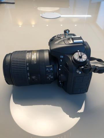 Nikon D7100 + Lente Nikor 18-300 + adaptador Wi-Fi + Carregador + Mochila - Foto 5