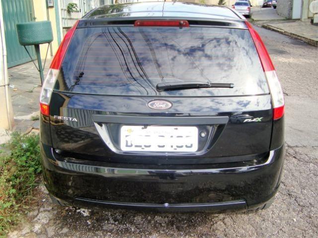 Ford Fiesta class flex 4 portas troco carro mais caro - Foto 16