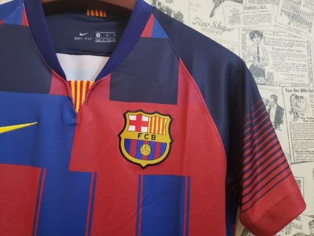 Camisa Barcelona Nike Comemorativa 2019 - Foto 4