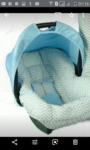 Capa p/carrinho e bebê conforto