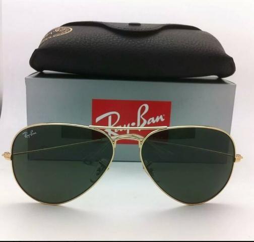 d344041e1 Óculos de sol Ray Ban Aviador Classico unissex Novo Frete grátis ...