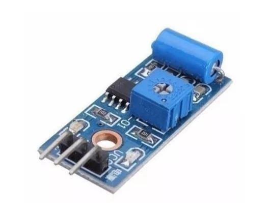 COD-AM58 Módulo Sensor De Vibração Arduino Tilt Sw-420 Pic Arm - Automação
