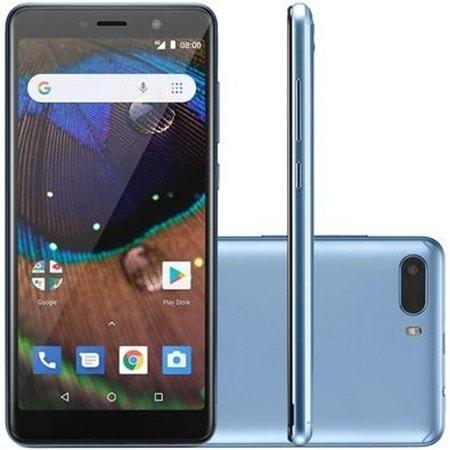 Celular Smartphone Multilaser MS50X, 16GB, 8MP, Tela 5.5´, Azul P9075 NB733