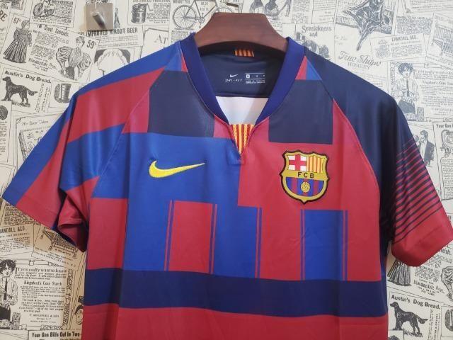 Camisa Barcelona Nike Comemorativa 2019 - Foto 5