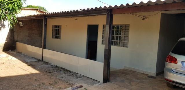Casa 3 Qtos Escriturada Águas Lindas - Jardim America I com Lote 360m²