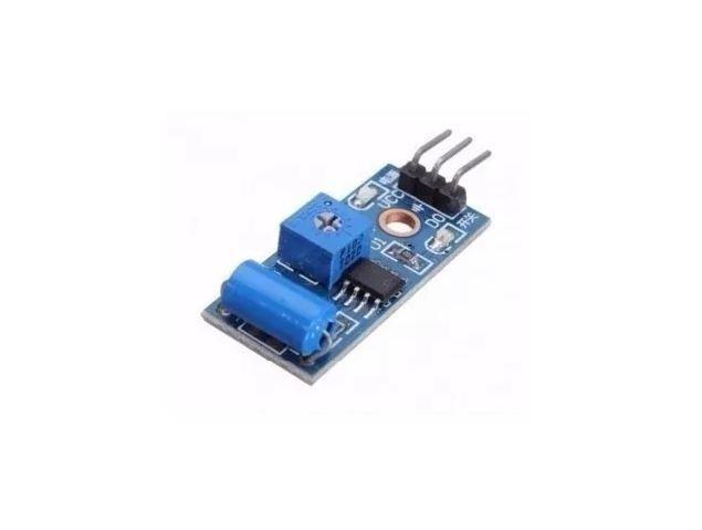 COD-AM58 Módulo Sensor De Vibração Arduino Tilt Sw-420 Pic Arm - Automação - Foto 2